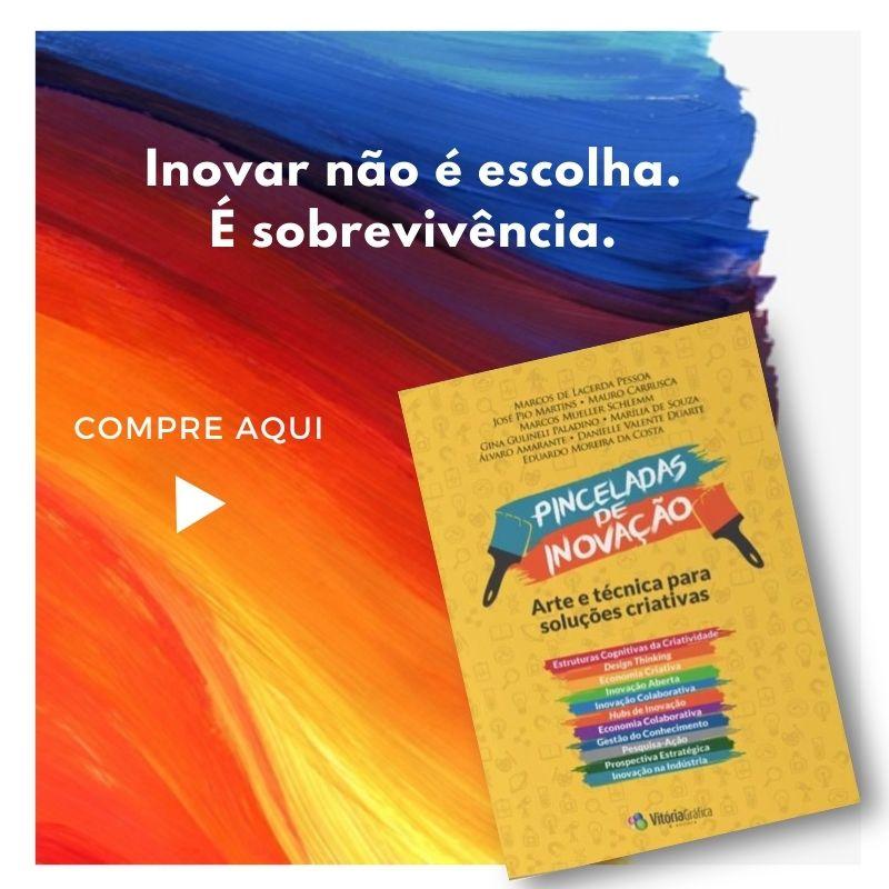 Livro Pinceladas da Inovação